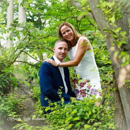 Bröllopsfotograf i Kalmar Ateljé Wallander